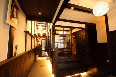 京みやび(100年前の大正ロマンを感じる京町家のお宿)施工前